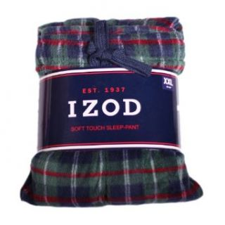 Izod Mens Soft Touch Pajama Sleep Pants (2XL, Hunter
