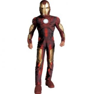 Iron Man Mark 3 Movie Light Up Classic Muscle Costume