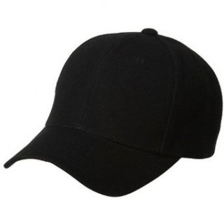 Fitted Cap Black W35S57F Clothing