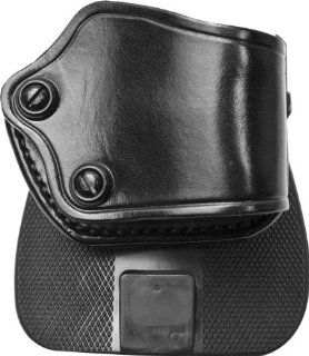 Galco F.E.D. Leather Paddle Holster, Right Hand, Black
