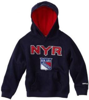 NHL Youth New York Rangers Sportsman Pullover Fleece