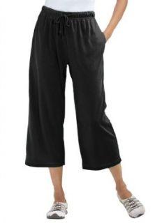 Woman Within Plus Size Petite Capri Pants In Soft Sport