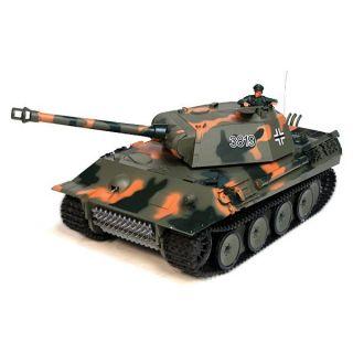 MODELISME TERRESTRE German Panther 116 [son & Fumee] Tank Char R C