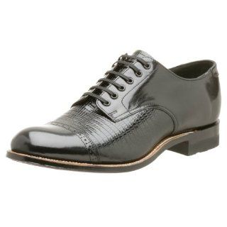 Stacy Adams Mens Madison Lizard Print Oxford Shoes