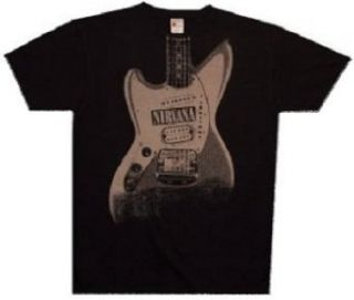 NIRVANA   Guitar   Black T shirt   size XL Clothing