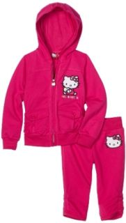 Hello Kitty Girls 2 6x French Terry Active Set with