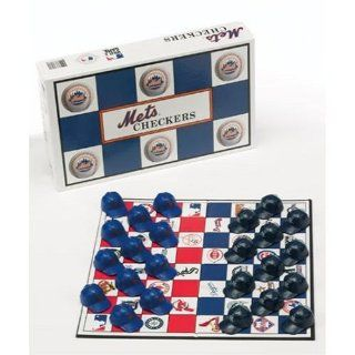 New York Mets vs. New York Yankees MLB Team Checkers Game