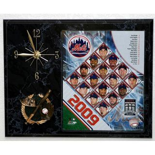New York Mets Team Picture Plaque Clock Today $44.99