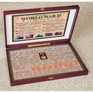 American Coin Treasures Complete World War II Coin Collection MSRP $