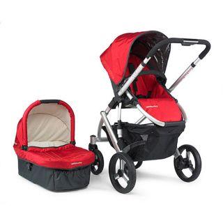 UPPAbaby 2009 Denny Red Vista Baby Stroller