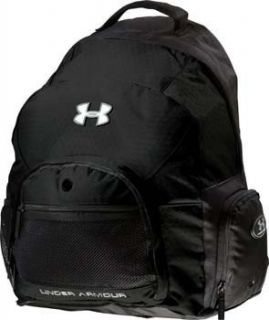 UNDER ARMOUR Adult Varsity Backpack,Black,14 X 9 X 18