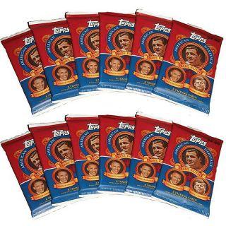 Pack of Twelve Topps 2009 American Heritage Cards