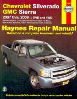 Manual Chevrolet Silverado & Gmc Sierra, 2007 Thru 2009 (Paperback