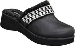Grazie Shoes Carletta Black M 11 Rhinestone Embellished