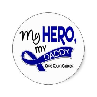 Colon Cancer Ribbon Stickers, Colon Cancer Ribbon Sticker Designs