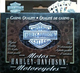 Harley Davidson Collectible Tin $ Playing Cards Sports
