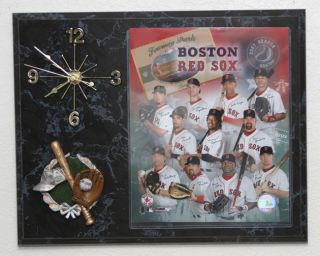Boston Red Sox 2007 Team Picture Clock