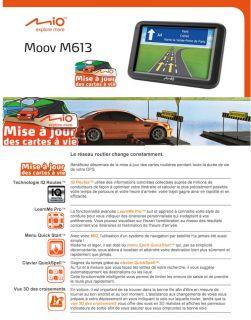 M613 Europe 23 CAV   Achat / Vente GPS AUTONOME GPS Mio M613 Europe 23