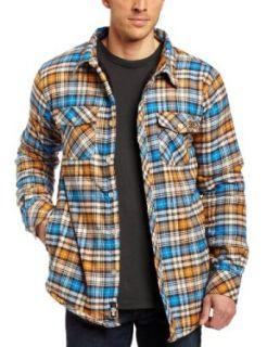 DC Mens Burleigh Long Sleeve Shirt, Oatmeal, Small