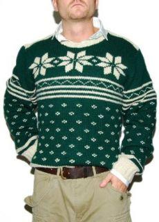Polo Ralph Lauren Mens Wool Ski Sweater Snowflake