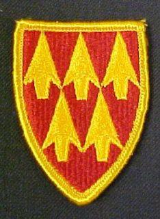 32nd ADA (Air Defense Artillery) Full Color Dress Patch