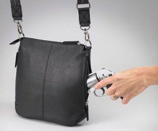 Gun Toten Mamas Concealed Carry Flat Sac (Black) Sports