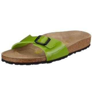 Birko Flor in Peridot Green with a narrow insole size 43.0 N EU Shoes