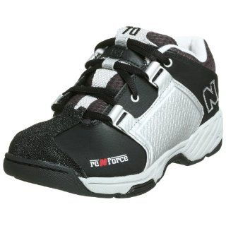 New Balance Little Kid/Big Kid KNF70 Basketball Shoe,Black,7 W Shoes
