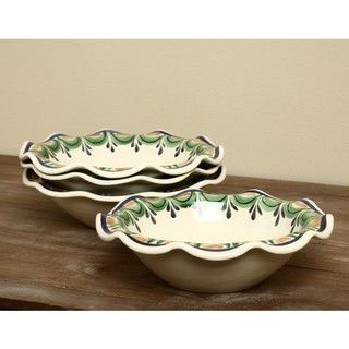 Daisy Pasta Bowl (Set of 4) (Mexico)