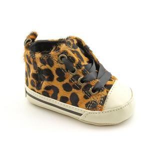 Ralph Lauren Layette Girls Sag Harbour Hi Hair Calf Casual Shoes