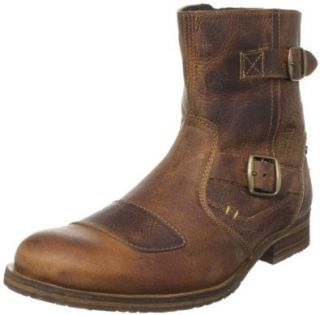 Steve Madden Mens Barrio Boot,Tan Leather,8 M US Shoes