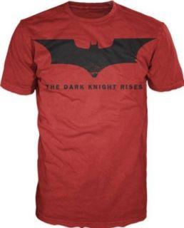 The Dark Knight Rises Batman Logo T shirt Clothing