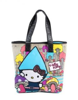 Hello Kitty Sanrio Gnome Striped Tote Hand Bag Clothing