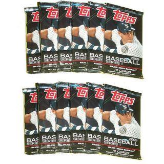 MLB Topps 2009 12 pack Trading Cards