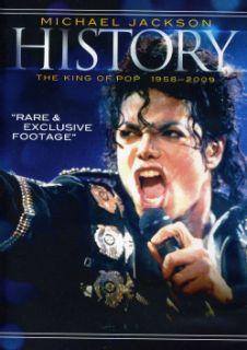 Jackson History The King of Pop 1958 2009 (DVD)