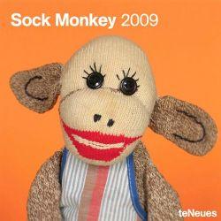 Sock Monkey 2009 Calendar