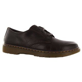 Dr.Martens Andre Dark Brown Leather Mens Shoes Shoes