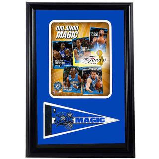 Orlando Magic 2009 NBA Finals 12x18 Framed Print with Pennant