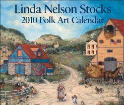 Linda Nelson Stocks Folk Art 2010 Calendar (Calendar Paperback