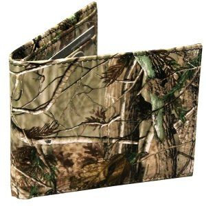 Realtree Bifold Camouflage Wallet Made From High Quality