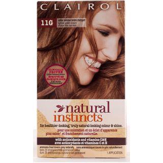 Clairol Natural Instincts #11G Amber Shimmer Lightest Golden Brown