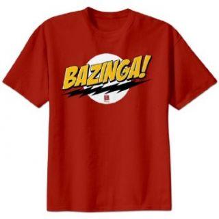 The Big Bang Theory Bazinga T Shirt Clothing