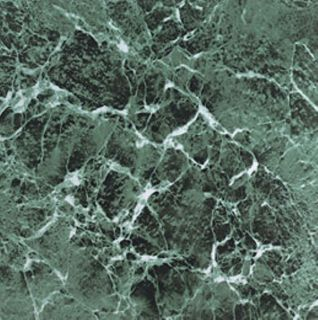 Self Adhesive Green Marble Vinyl Floor Tiles (12 x 12) 60 Square Feet