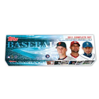 2011 Topps Baseball Trading Card Complete Box Set