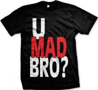 U Mad Bro? Funny Mens T shirt, Funny Trendy Oversized U