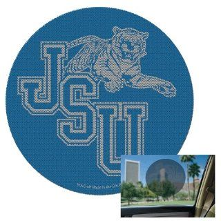 JACKSON STATE TIGERS OFFICIAL 8 DIAMETER NCAA CAR WINDOW