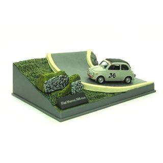 Fiat Nuova 500 eco No. 36 + Diorama 143   Fiat Nuova 500 eco No. 36