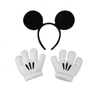 Mickey Mouse   Ears And Glove Set Clothing