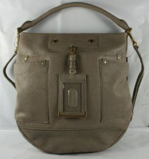 Marc Jacobs Preppy Leather Hobo Bag in Chinchilla