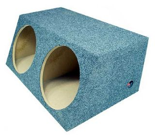 Sub Boxes Hatchback Dual 15 inch Subwoofer Box